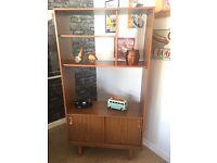 Schreiber Retro Teak Wall Unit, Display Cabinet, Sideboard - CAN DELIVER