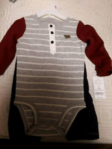 Carter baby boy outfit 9 months