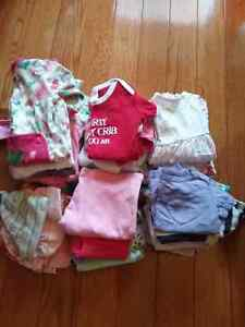 Baby girl mixed bag of clothes 3-6months