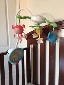 Mobile Fisher Price Discover'N Grow Twinkling Lights