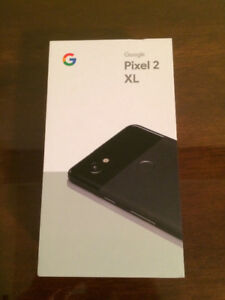 Google Pixel 2 XL 64GB Brand New sealed Unlock Black