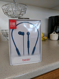 LNIB BeatsX wireless headphones with extentded warranty