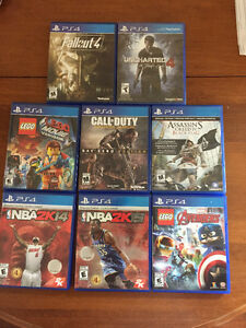 Various PS4 Games