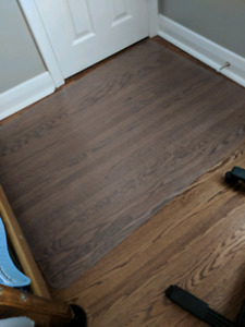Floor and carpet protector. 3 feet x 4 feet