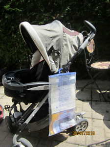 Peg Perego Pliko P3 Stroller in great shape with all attachments