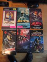 VHS  horreur francais