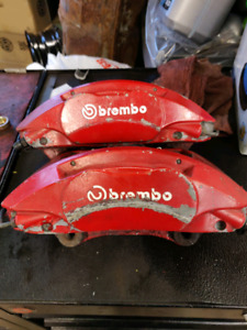 2004 to 2009 audi a4 b7 front brembo calipers