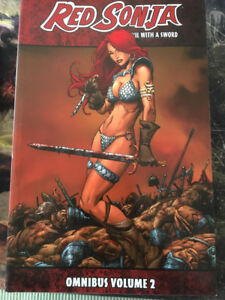 Dynamite Red Sonja She Devil With a Sword OmniBus Collection