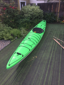 Delta expedition kayak