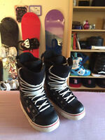 Forum Snowboard Boots, Size 11, $30