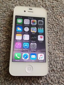iPhone 4s 16gb (Bell) White