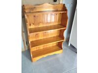 Wooden Shelving Bookcase - Can Deliver