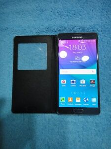 """UNLOCKED SAMSUNG NOTE4 32GB LIKE NEWA+ Condition5.7""""scr $285Firm"""
