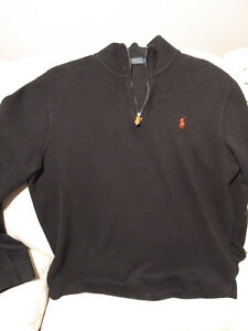 Large Black Ralph Lauren Polo Sweater