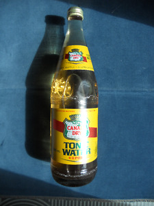 Vintage Bottle of Canada Dry Tonic Water