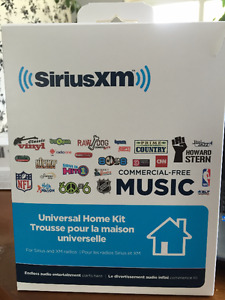 SiriusXM Home Stereo Kit and Radio