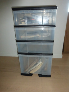 Plastic Office Organizer File Cabinet or /Storage unit