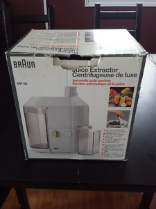 Braun Juicer - Excellent, Like NEW Condition