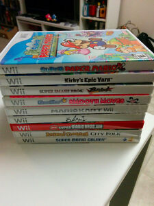 Collection of Wii games + classic controller