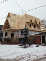 NEED A HOUSE FRAMED  ?  ADDITION  ?  BEARING WALLS REMOVED ?