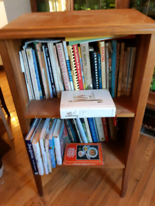 Bookcase/Reading stand-$10