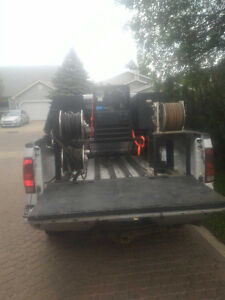 welder and skid for sale