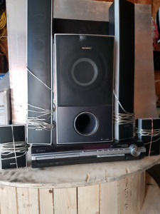 DVD home theater system and Receiver