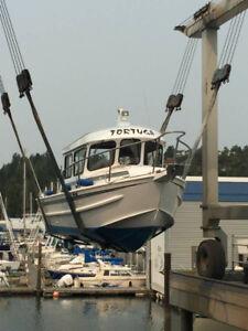 Perfect 25' Aluminum Cruiser/Fishing Boat OBO - $95000