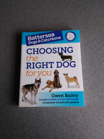 """""""CHOOSING THE RIGHT DOG FOR YOU """" PAPER BACK BOOK"""