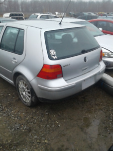 PARTS AVAILABLE FOR A 2003 GOLF 4 DOOR