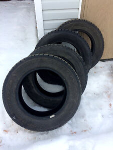 Almost New Goodyear Nordic Winter Tires