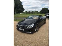 MERCEDES E 250 SPORT 2012 AUTO CONVERTIBLE 70k FULLY LOADED AMG ALLOYS DRIVES THE BEST