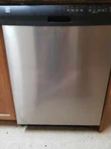 Kenmore Stainless Steel Dishwasher For Sale