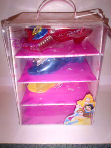 FUN Disney Princess Dress Up Shoes 4 Pack MINT CONDITION!
