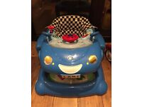 Car walker blue mothercare with box