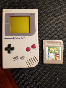 Nintendo Gameboy (original) with Kirby's Dream Land