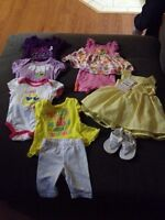 0 to 3 months and 3 months clothes