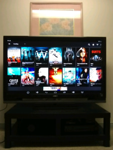 "52"" SONY LCD TV with remote"