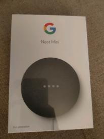 Google nest mini 2nd Generation brand new