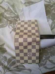 Louis Vuitton black and white wallet