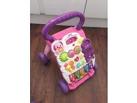 V-Tech baby walker, stroller