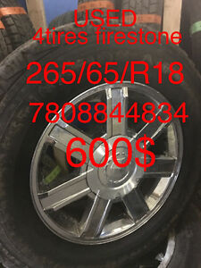 Used tires 265/65/18 7808844834