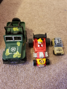 Mickey Mouse + 2 other cars - $5