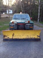 7 1/2 foot plow with FREE truck