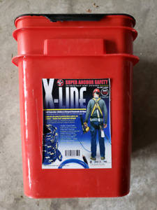 X line  roofing anchor to change shingles