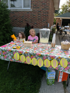 Garage Sale and Lemonade