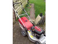 Montfield self starter petrol lawn mover