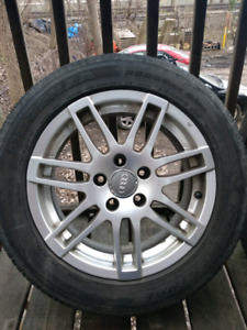 "Mags 16"" 5x112 audi VW new summer tires"