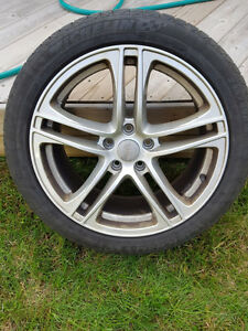 Audi S4 / A4 Rims with Michelin Pilot Alpin Tires