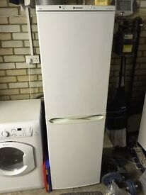 Hotpoint frost free tall fridge freezer in good condition